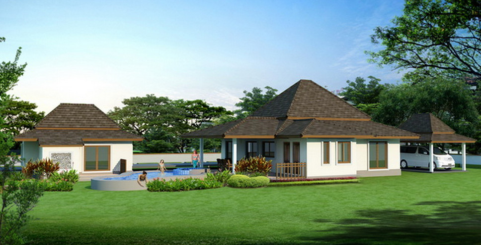 Plans for detached guest houses house design plans for House plans with detached guest suite